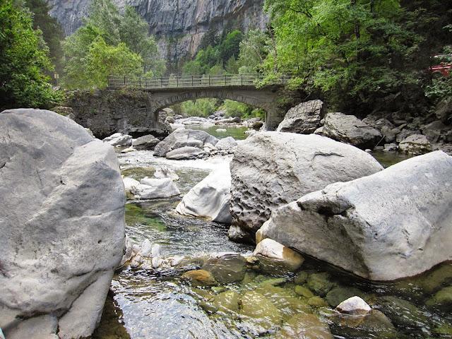 Pont de Santa Elena. Bujaruelo