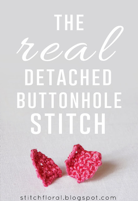Detached buttonhole