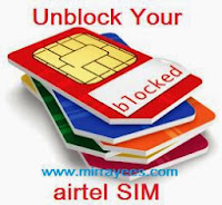 Unblock your Airtel SIM