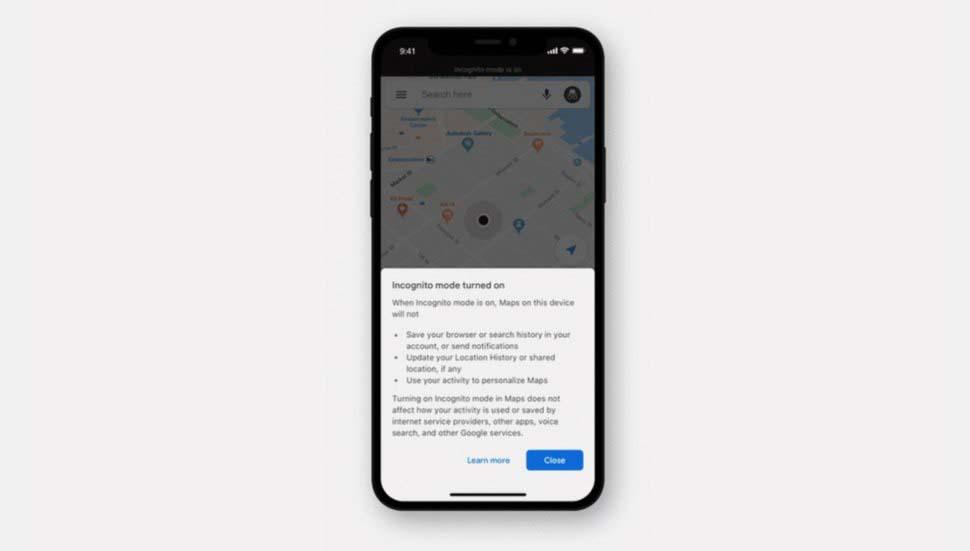 Cara mengaktifkan mode Penyamaran di Google Maps