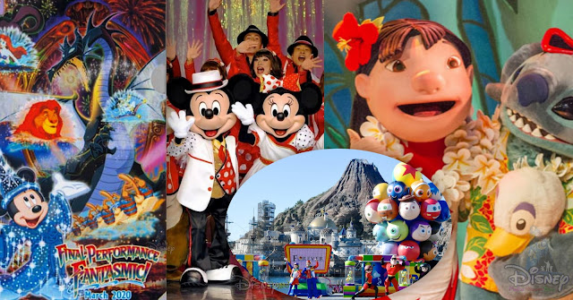 東京迪士尼度假區(Tokyo Disney Resort)限時推出「Pixar Playtime Pals」、「It's Very Minnie」、「Fantasmic!」及「Lilo's Luau & Fun」精華版影片