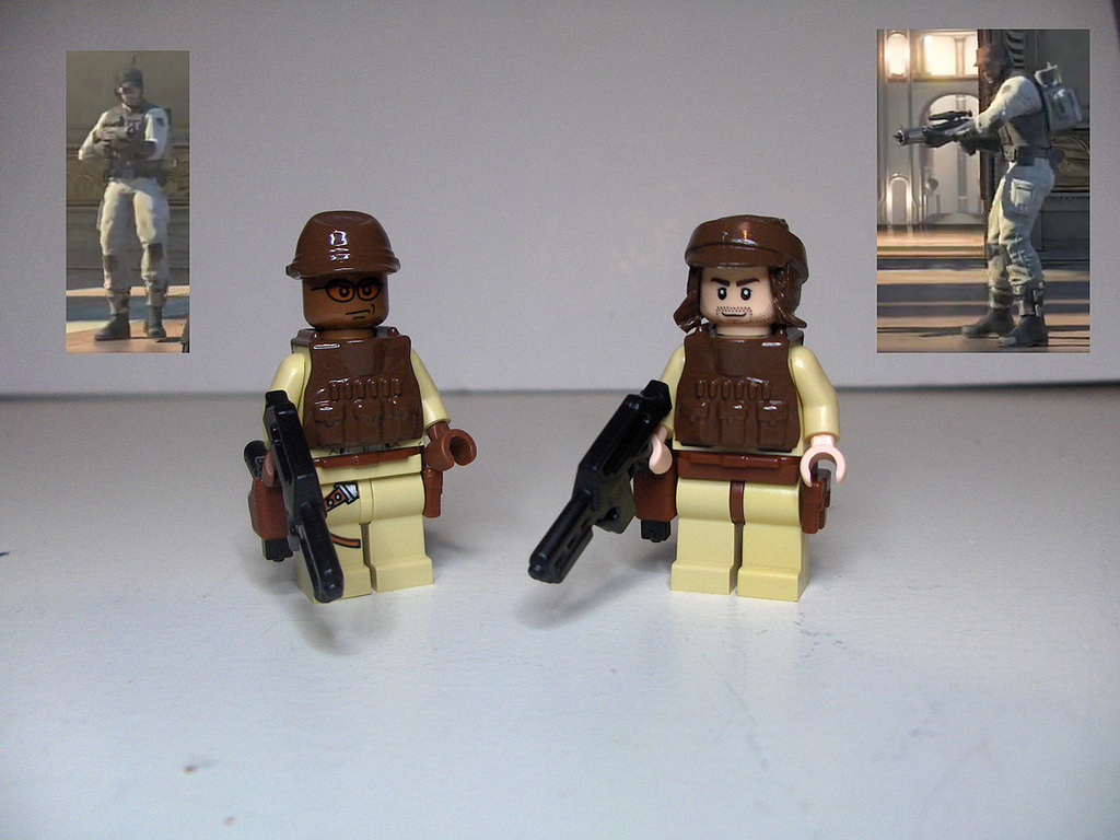 Star Wars The Old Republic Lego Minifigures Lego Educational Resource