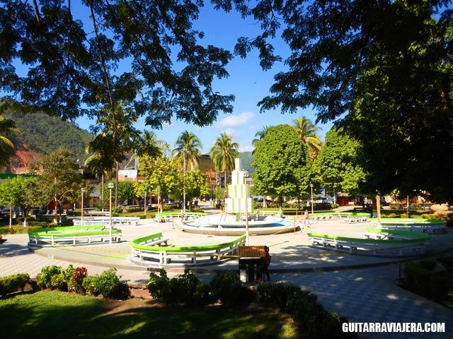 Plaza principal de Satipo