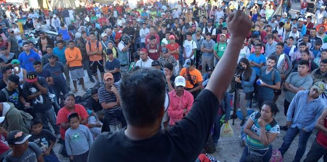 Acusan a Venezuela de haber financiado la caravana de migrantes hondureños