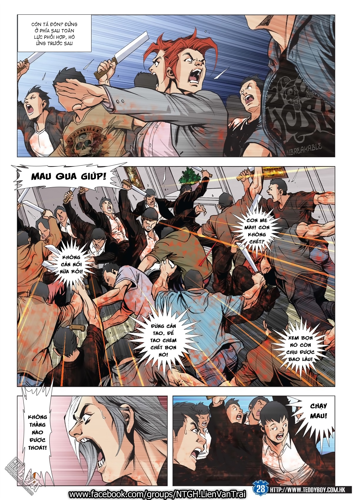 Người Trong Giang Hồ chapter 2026: khí diệm tông sư trang 27