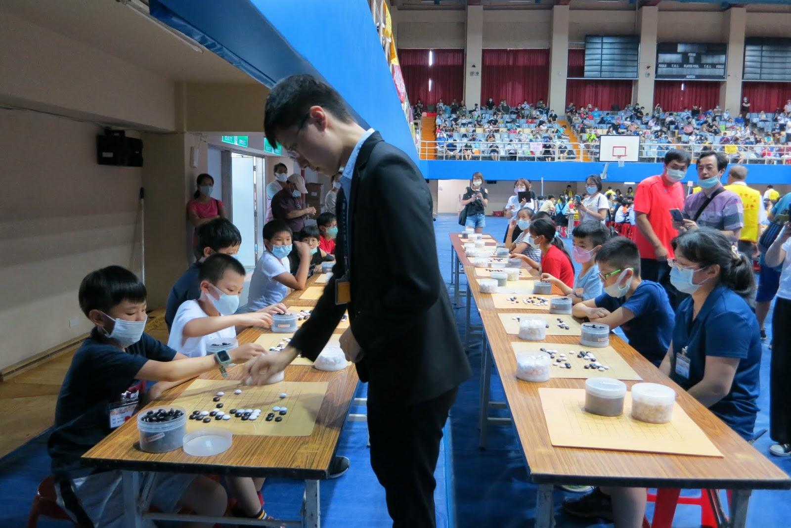 翔之圍棋: 2020年7月19日樹林棋藝盃圍棋公開賽 洪國翔 六段組奪冠 升七段