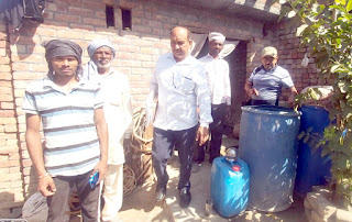 स्वास्थ्य टीम ने गांव मुआना में डेंगू व मलेरिया के प्रति लोगों को किया जागरूक
