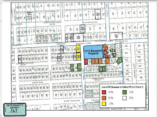 Trial exhibit showing Ashby Highrise lot near Rice U on the neighborhood map