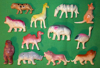 Blow Mould Figures; Blow Moulded Toy; Blow Moulded Wild Animals; Blow Moulds; Camel; Celluloid Acetate Figures; Celluloid Nitrate Figures; Celluloid Novelty; Celluloid Toys; Cellulose Acetate; Cellulose Nitrate; Elephant Toy; Giraffe; Gorilla; Hippopotamus; Japanese Celluloid Toy; Japanese Novelty Toy; Japanese Toy; Japanese Toys; Kangaroo; Lions; Ostritch; Rhinoceros; Small Scale World; smallscaleworld.blogspot.com; Tiger; Vintage Celluloid; Vintage Celluloid Animals; Vintage Plastic Animals; Vintage Toy Animals; Zebra;