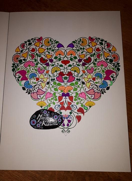 Kleurplaten Voor Volwassenen Mijn Geheime Tuin.Mandy Kleurt Mijn Geheime Tuin Speciale Editite