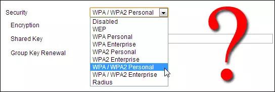 ما الفرق بين أنواع حماية الواي فاي WEP و WPA و WPA2