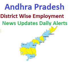 Govt Jobs in AP - Andhra Pradesh District Wise Employment News Updates Daily Alerts