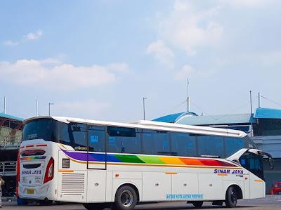 Foto Bus Sinar Jaya Terbaru