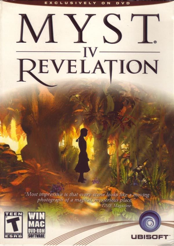 MYST IV Revelation Download Cover Free Game