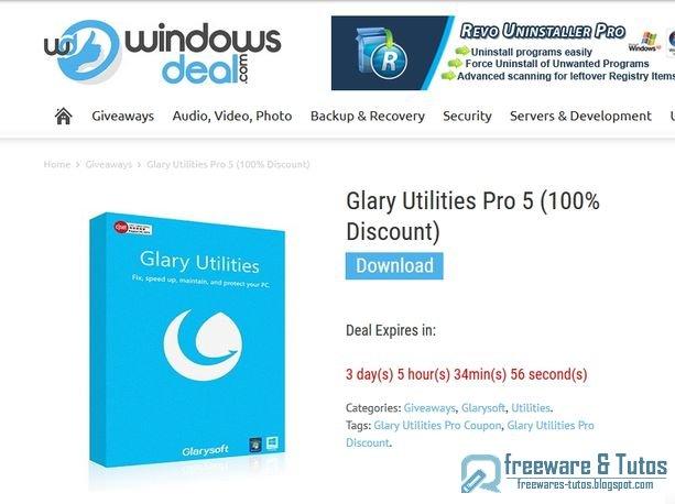 Regroupant une vingtaine d'outils spécialisés, Glary Utilities permet d'optimiseret d'entretenir un PC sous Windows. Base de registre, disque dur, mémoire vive, pilotes, logiciels, fichiers, ce ...