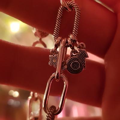 Pandora Millie Bobby Brown Bracelet Charms lightning