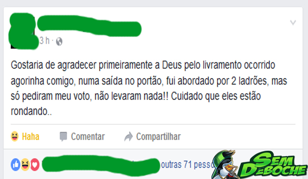 LIVRAMENTO DE DEUS