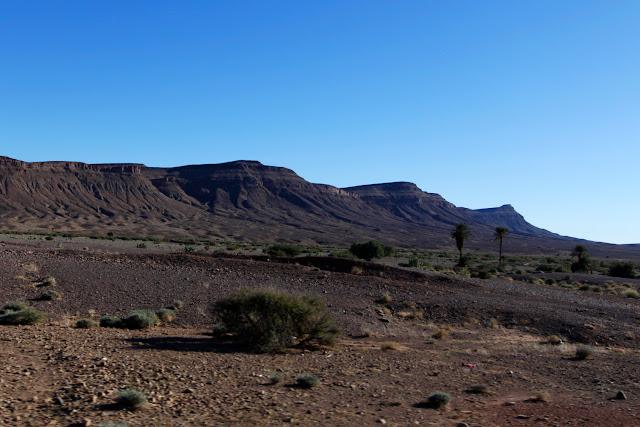 Paisaje del sur de Marruecos
