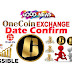 Good News!! OneCoin Exchange Date Confirm