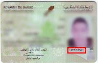 numéro CIN Carte National Maroc