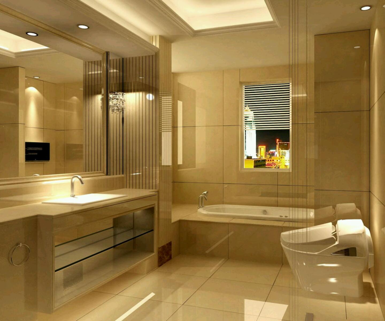Modern Bathrooms Setting Ideas.