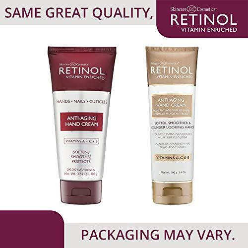 Skincare LdeL Cosmetics Retinol Anti-Aging Hand Cream