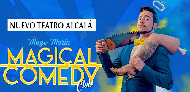 MAGICAL COMEDY CLUB: EL CÓMICO, MUSICAL Y MÁGICO BAUTIZO DE MAG MARÍN EN MADRID
