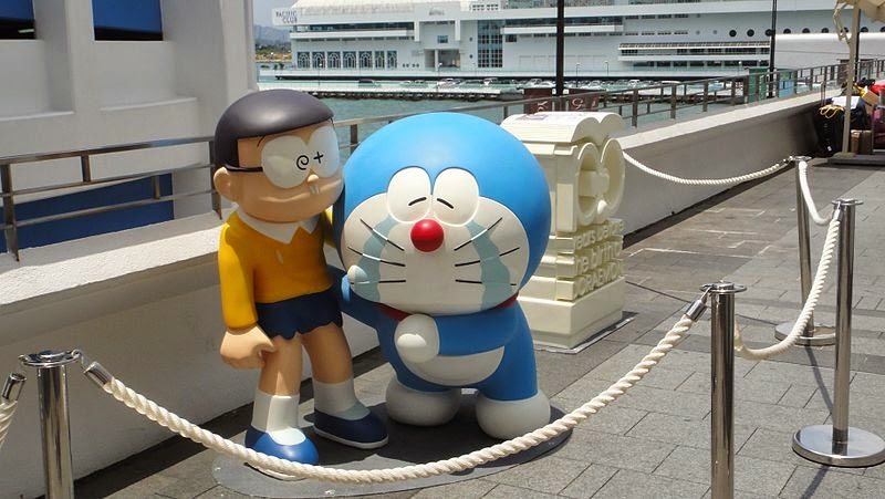 Wallpaper Boneka Kartun Doraemon 3d Di Film & Komik