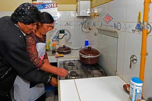 Gas domiciliario llega a Villazón, Gobierno inaugura planta de regasificación