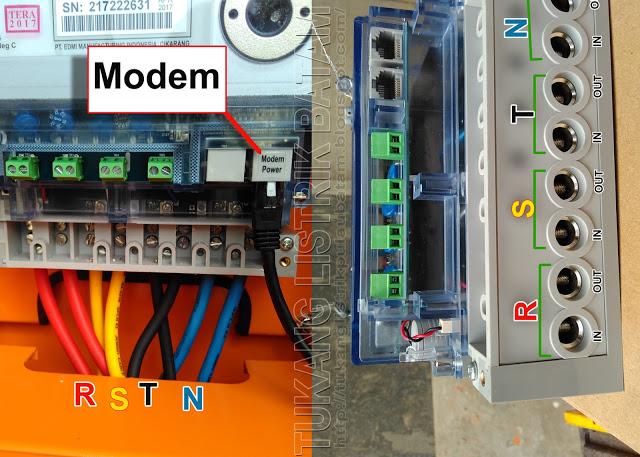 RSTN Pada Meteran Listrik 3 Phase (Kwh 3 Phase)