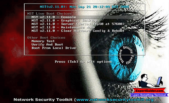 Network Security Toolkit-Best Operating System-Expertguider.com