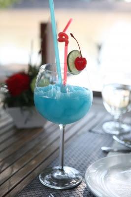 como fazer drink coquetel blue