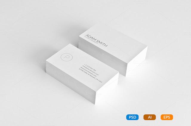 mẫu card visit cá nhân đẹp nhất Thiết kế In card visit tại tphcm