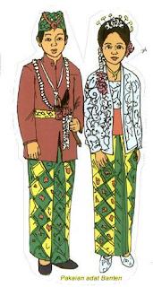 Pakaian Pengantin Wanita Banten