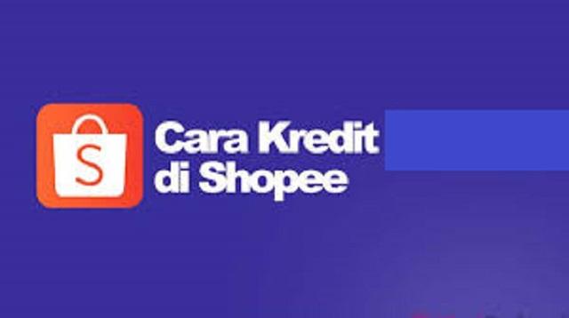 cara kredit di shopee