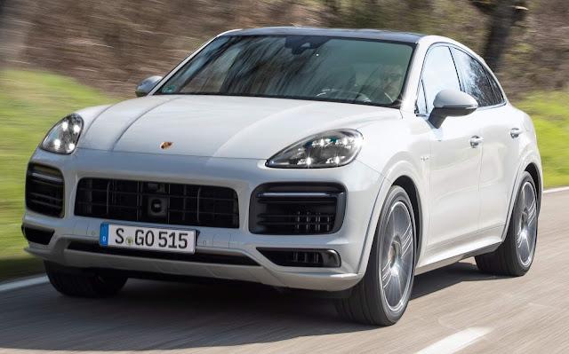 Porsche Cayenne E-Hybrid Coupé chega por R$ 495 mil