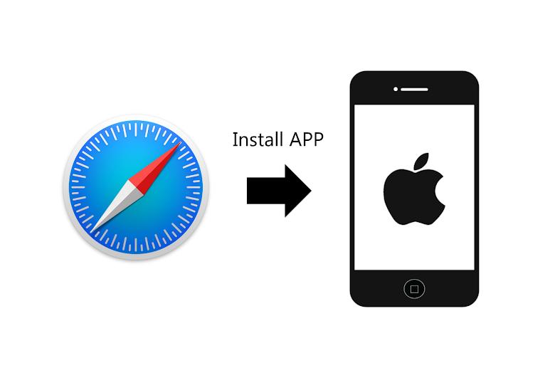 Install iOS App using Safari