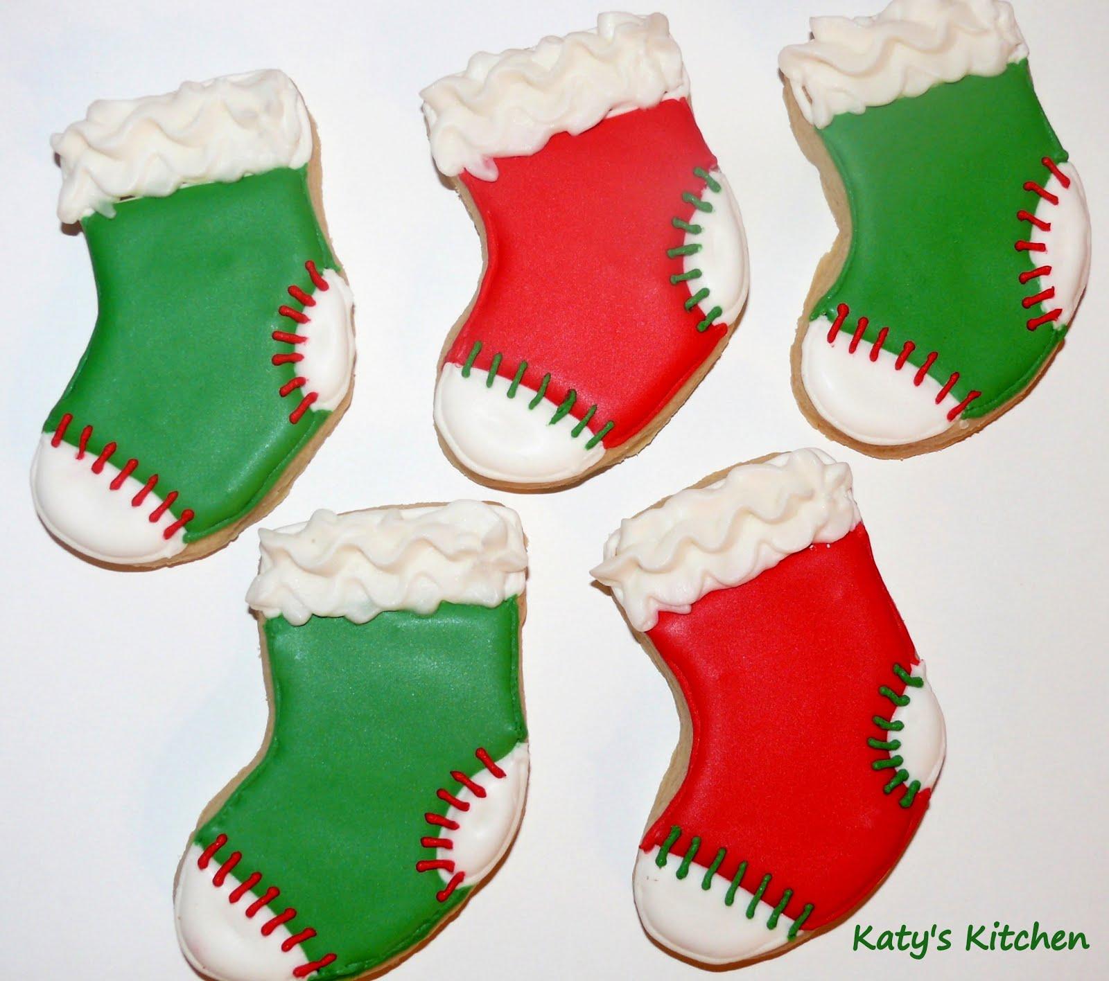 Katy S Kitchen Stocking Cookies