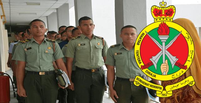Tawaran Kemasukan ke Tingkatan Empat Maktab Tentera Diraja Malaysia