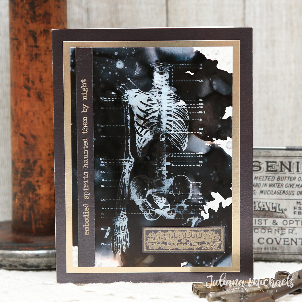 Tim Holtz Stampers Anonymous Halloween 2020 Embodied Spirits   Tim Holtz 2020 Stampers Anonymous Halloween