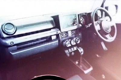 Interior Suzuki Jimny 2019