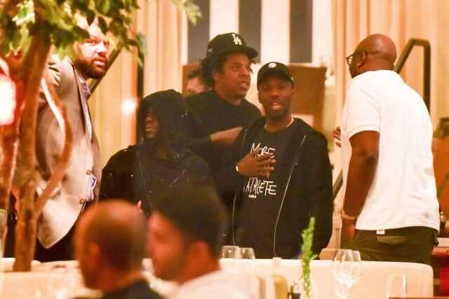 Kevin Hart spotted out in public for first time with Jay-Z after surviving a terrible car crash