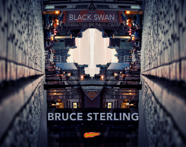 Bruce Sterling Author Black Swan Paul Cram