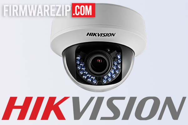How to update HikVision Firmware
