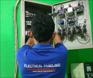 Service panel ats-amf genset