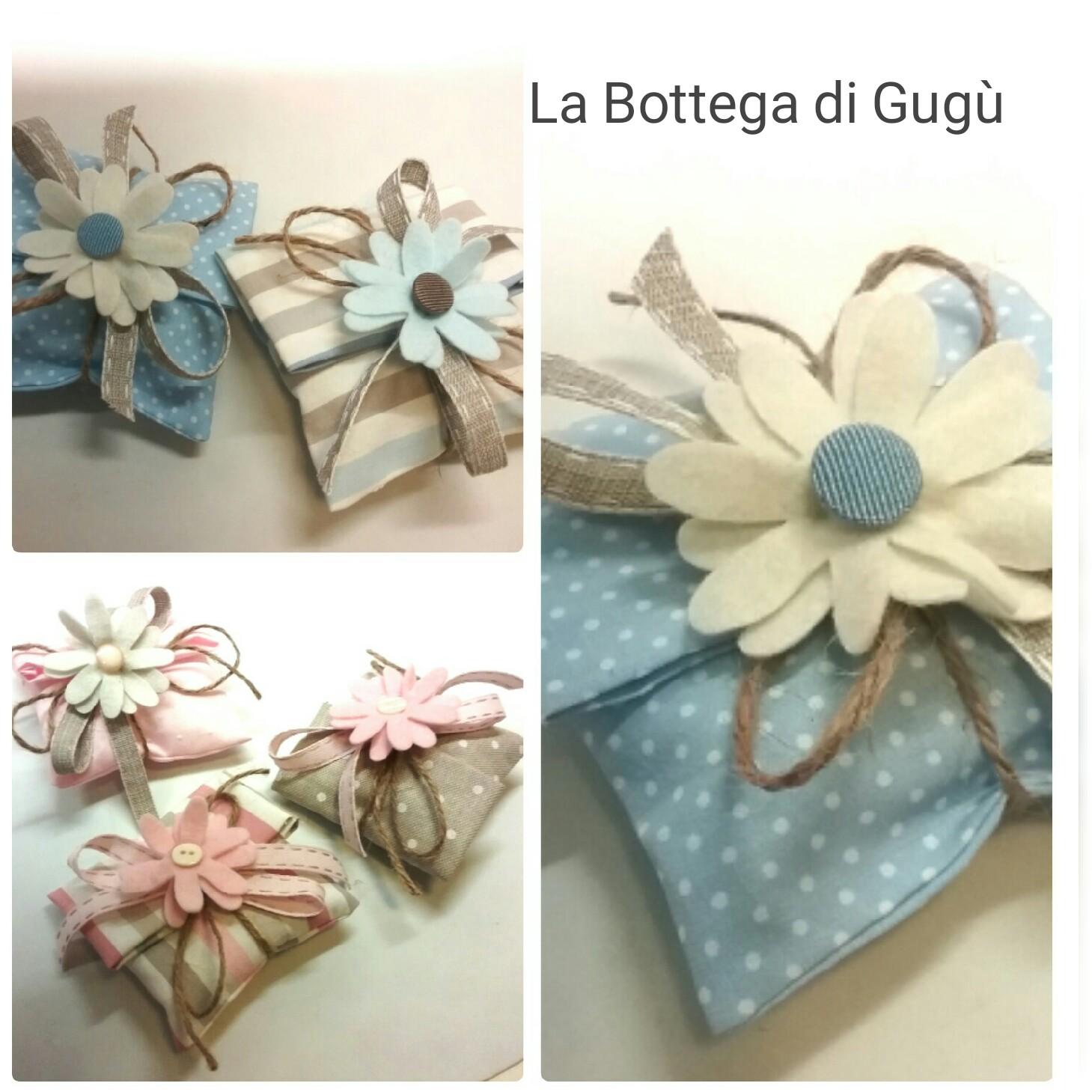 Extrêmement La bottega di Gugù: Come fare bomboniere porta-confetti semplici e  EG02