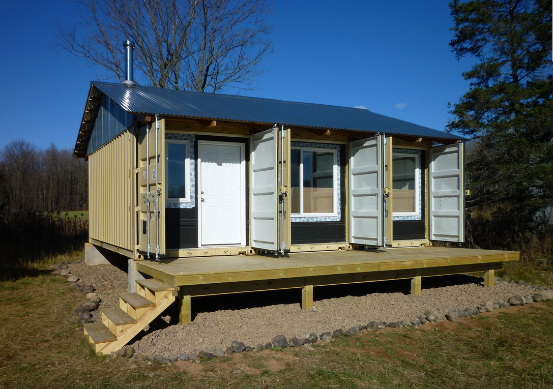Shipping Container Homes November 2011