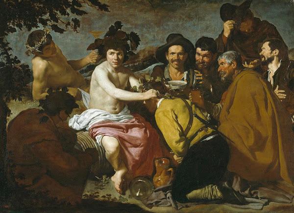 Диего Веласкес - Триумф Вакха (1628-1629)
