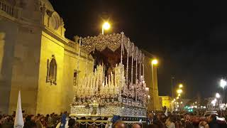 Holy Mary of the Rosary in its Sorrowful Mysteries through Campo del Sur. Easter Cádiz 2019