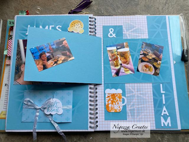 Ink & Share Scrapbook June Blog Hop - Use A Punch